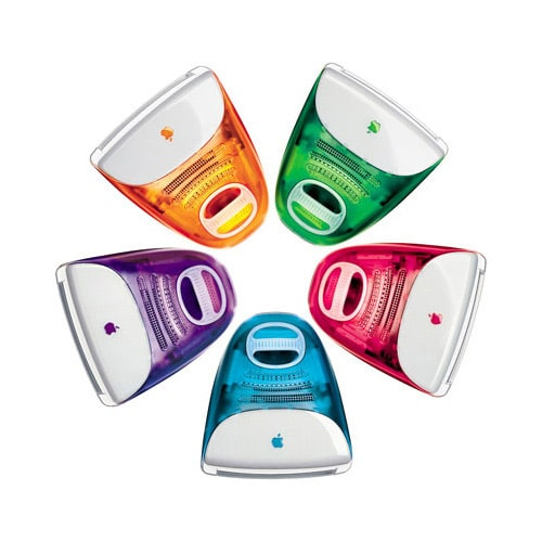 colored apple computers