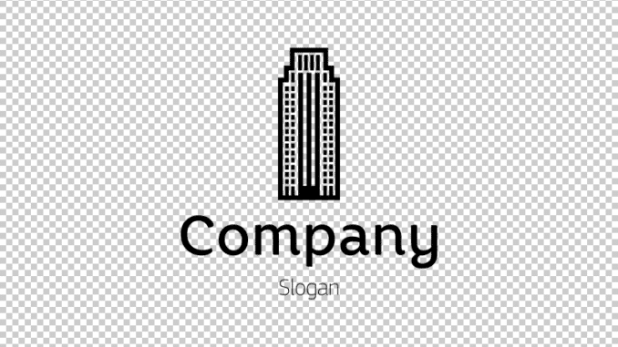 Transparent logo example