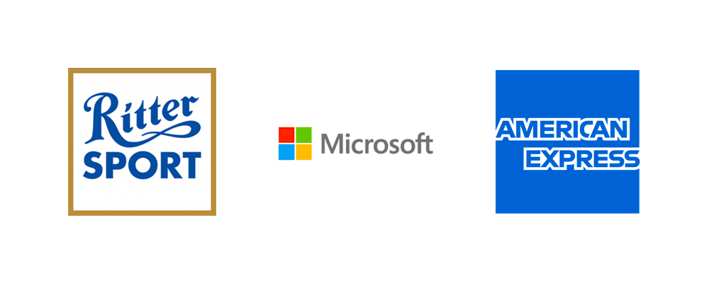 Rectangle logos