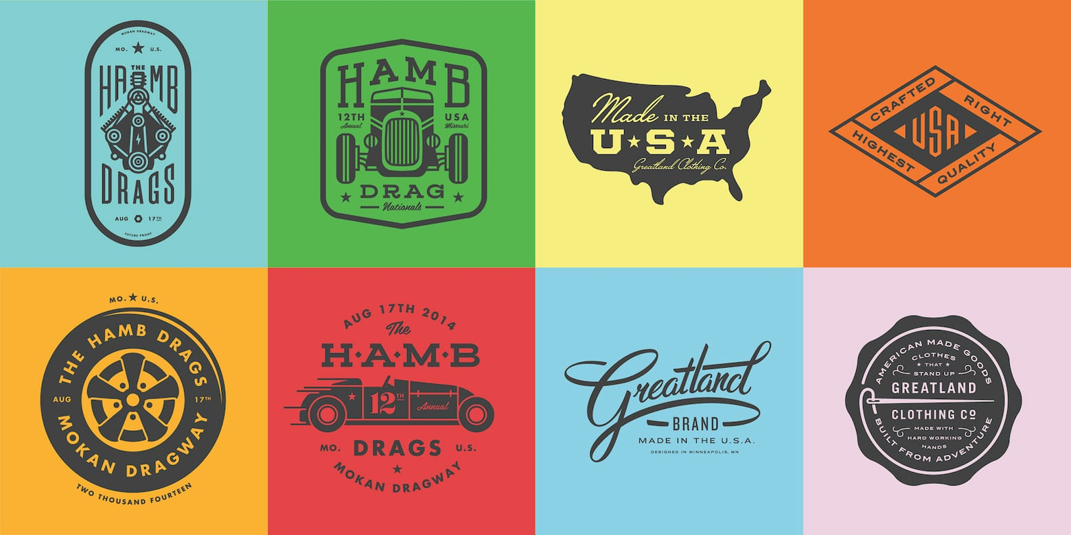 Top Tips and Inspirations for Retro and Vintage Logo ...
