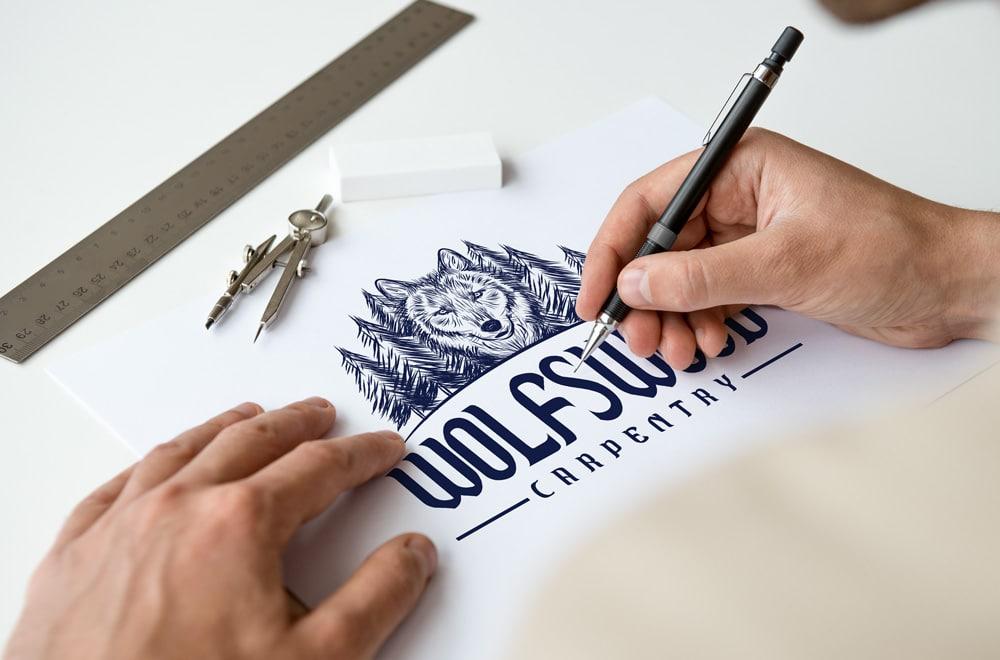 desenho do logotipo