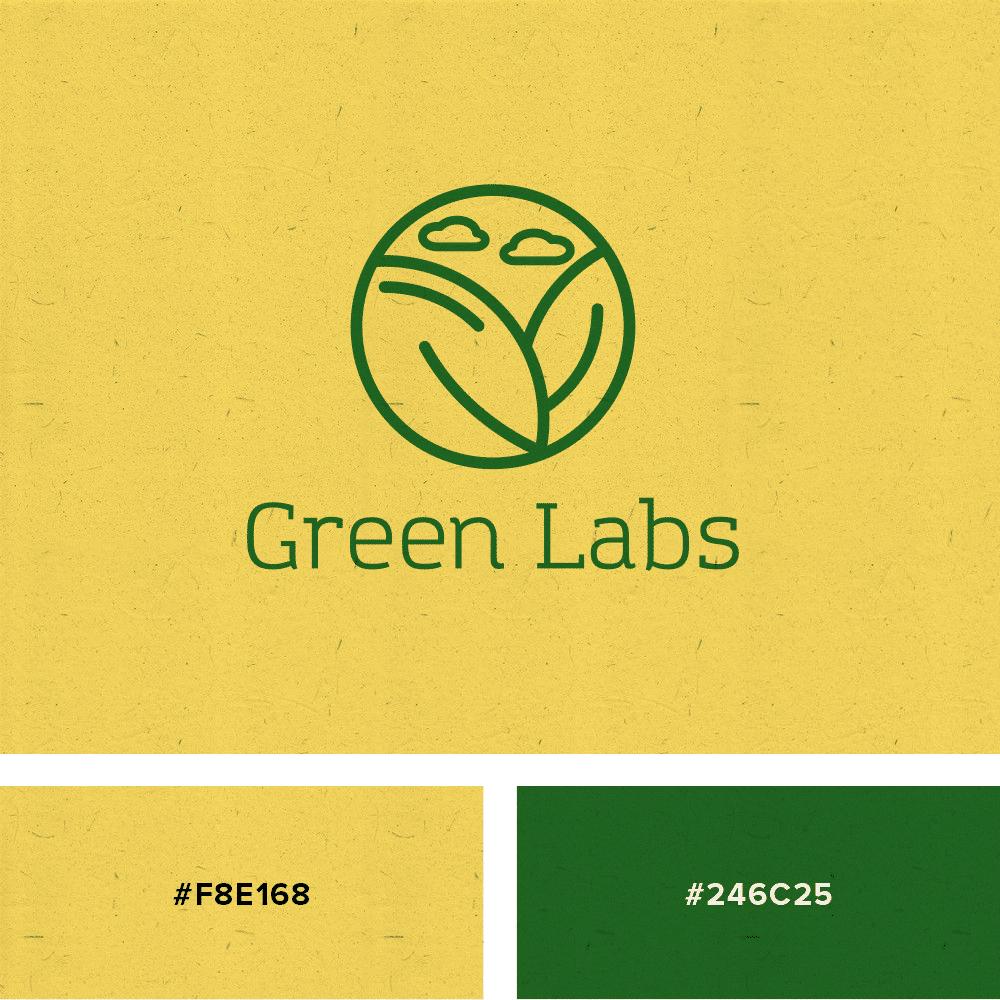 logo amarillo verde