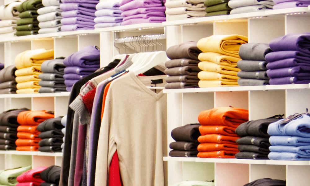 clothes shop colors