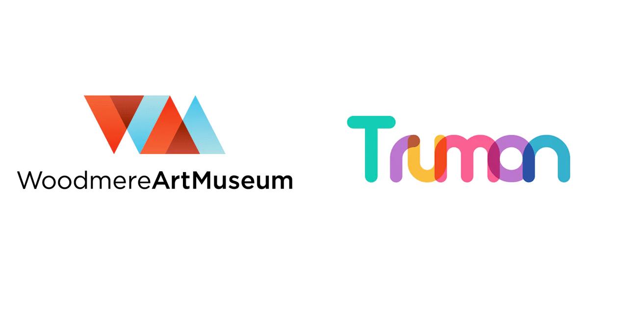 overlapping logos