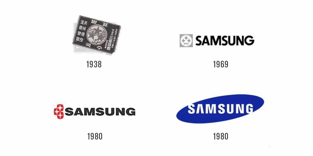 storia del logo Samsung