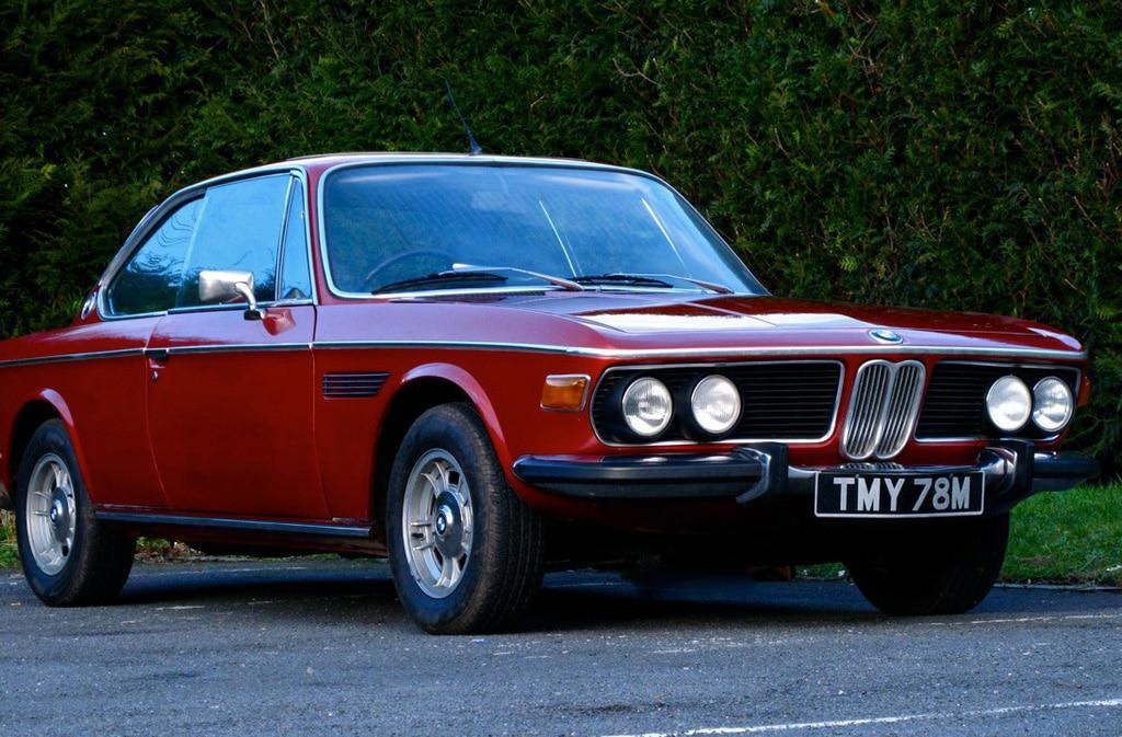 BMW retro car