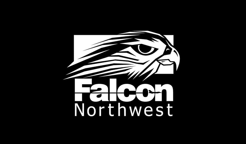 Falcon northwest logo design