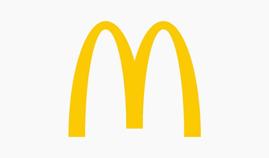 Mc`Donalds berühmtes Logo