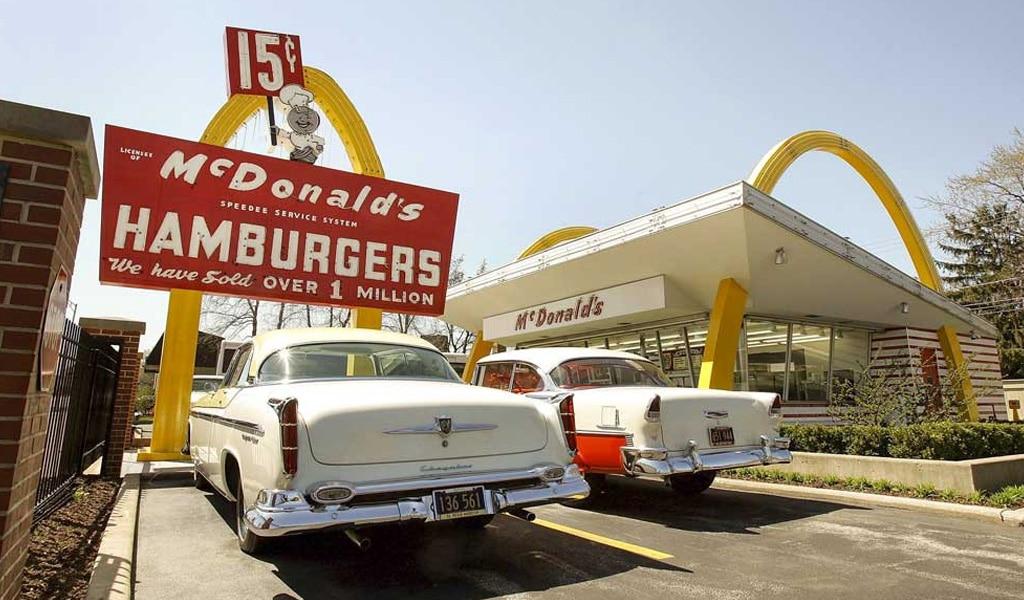 Mc`Donalds Hamburgers Foto