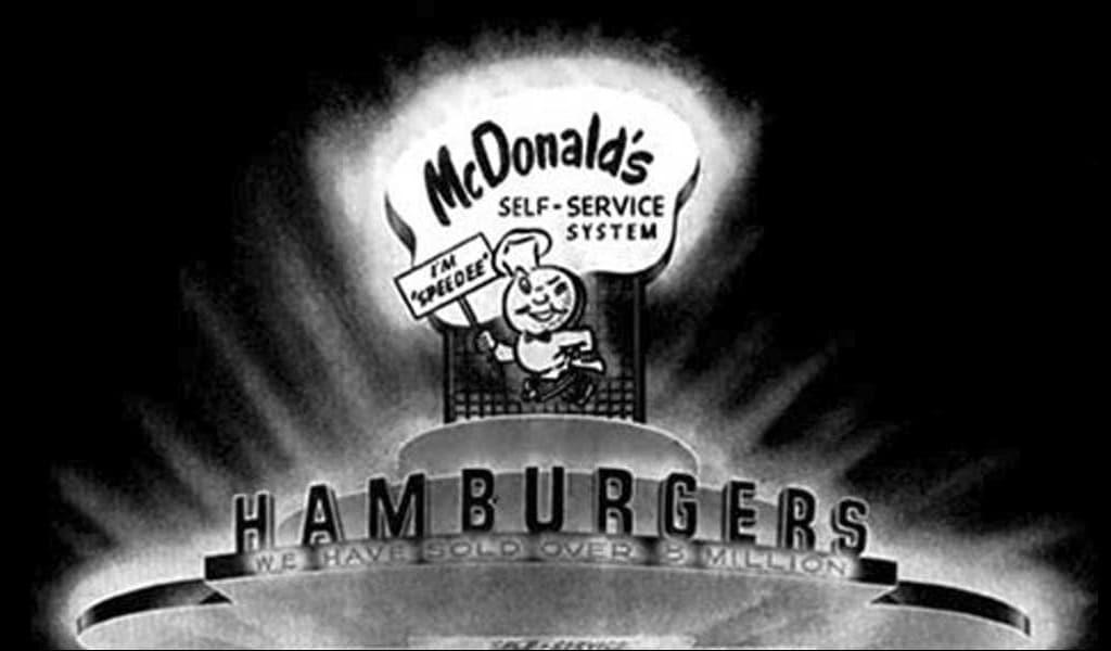 Mc`Donalds Speedee Service Logo, 1948