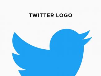 Twitter logo history illustration