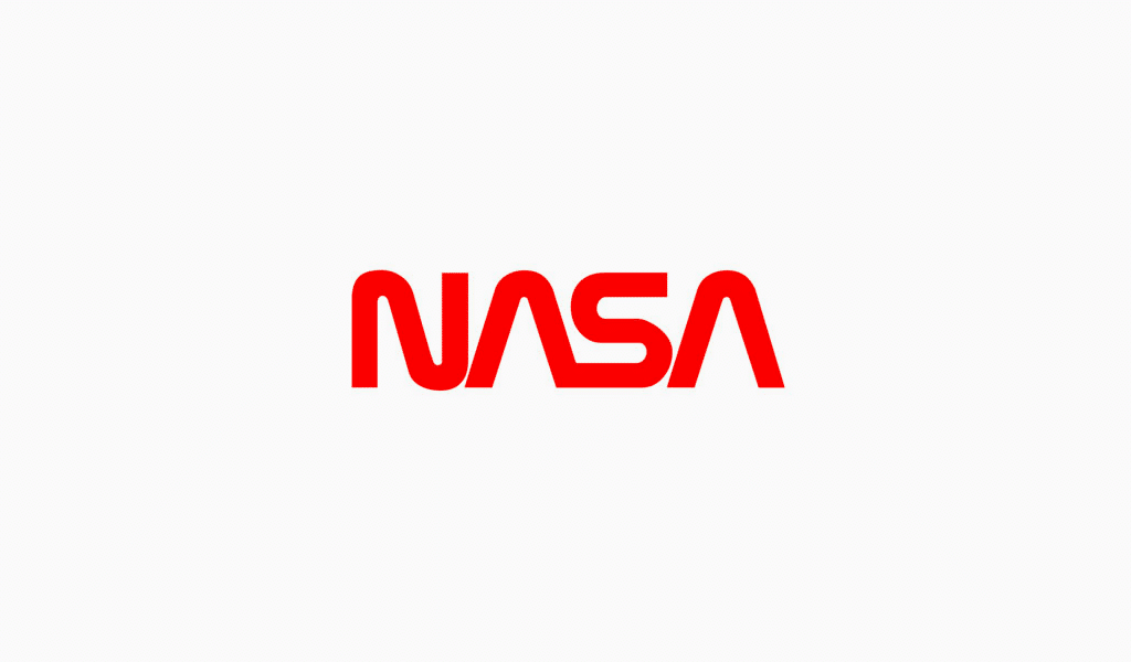 NASA's new text logo