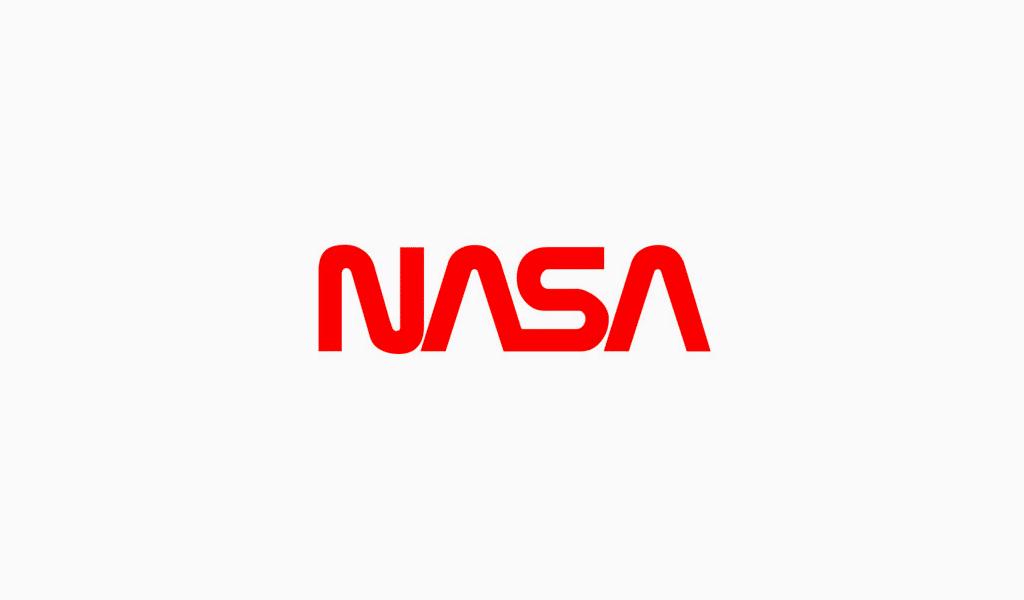 Das neue Textlogo der NASA