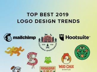 Top best 2019 logo trends