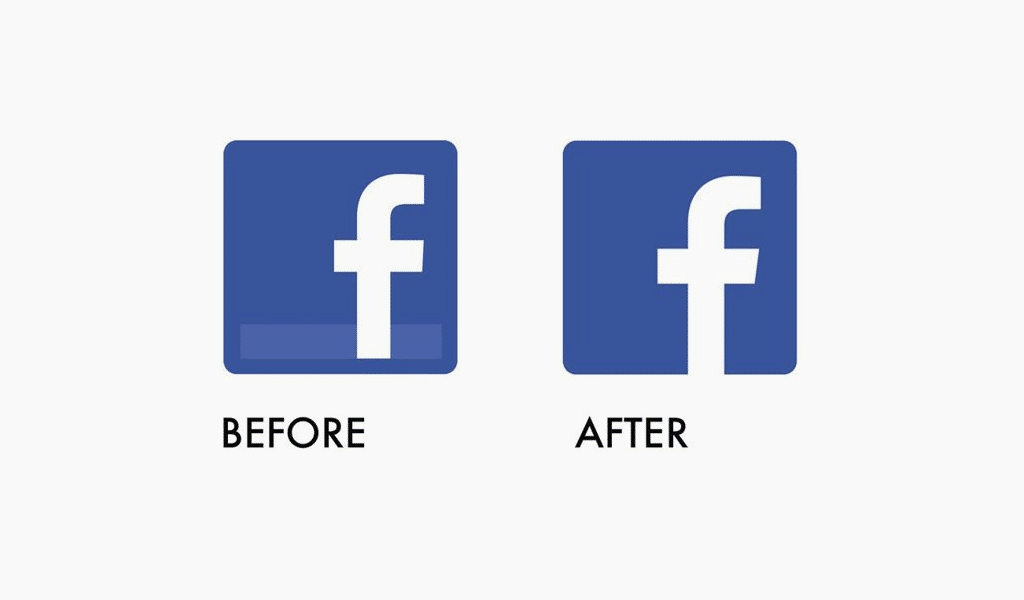 Facebook icon evolution