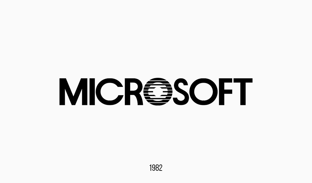 Microsoft logo, 1982