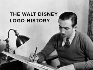 The Walt Disney logo history