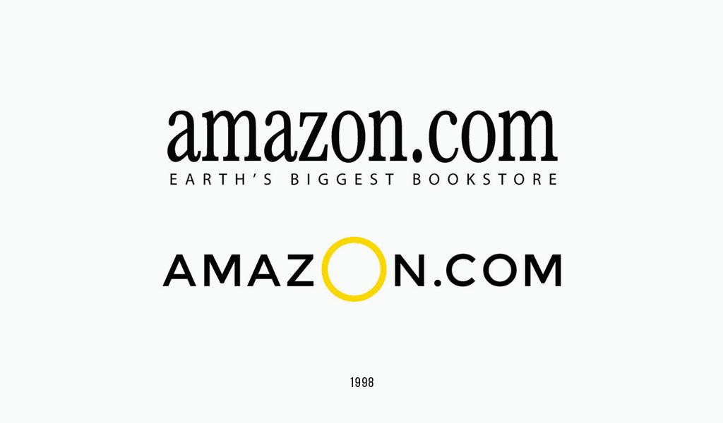 Amazon logos, 1998