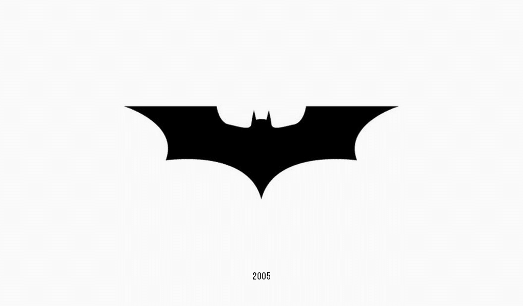 Dark knight logo, 2005