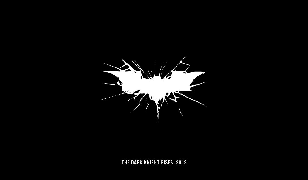 Dark Knight Rises Logo, 2012