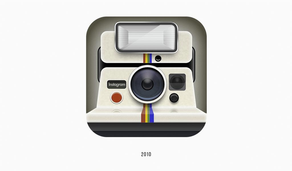 Instagram first logo, 2010