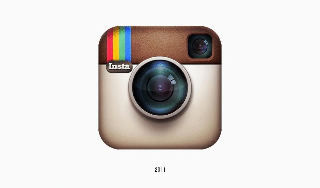 Instagram old logo, 2011