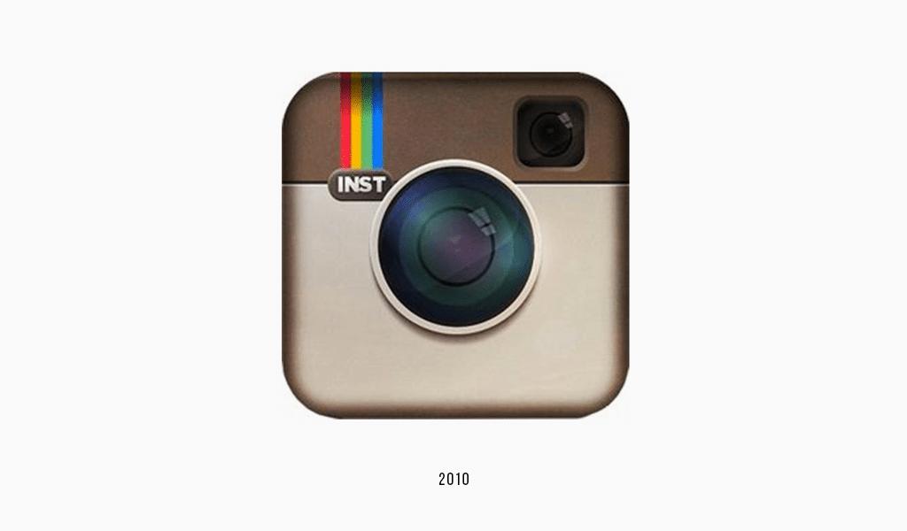 Instagram second logo, 2010