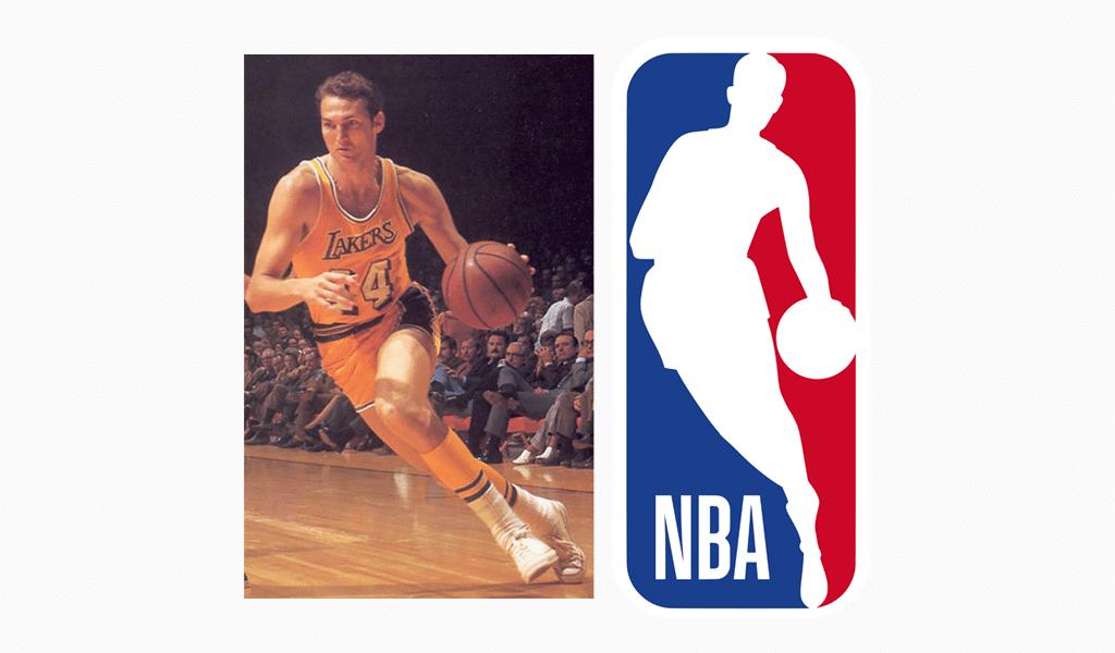 Jerry West – NBA logo man