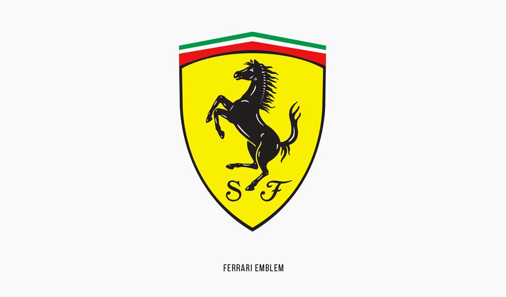Ferrari emblem, 2002