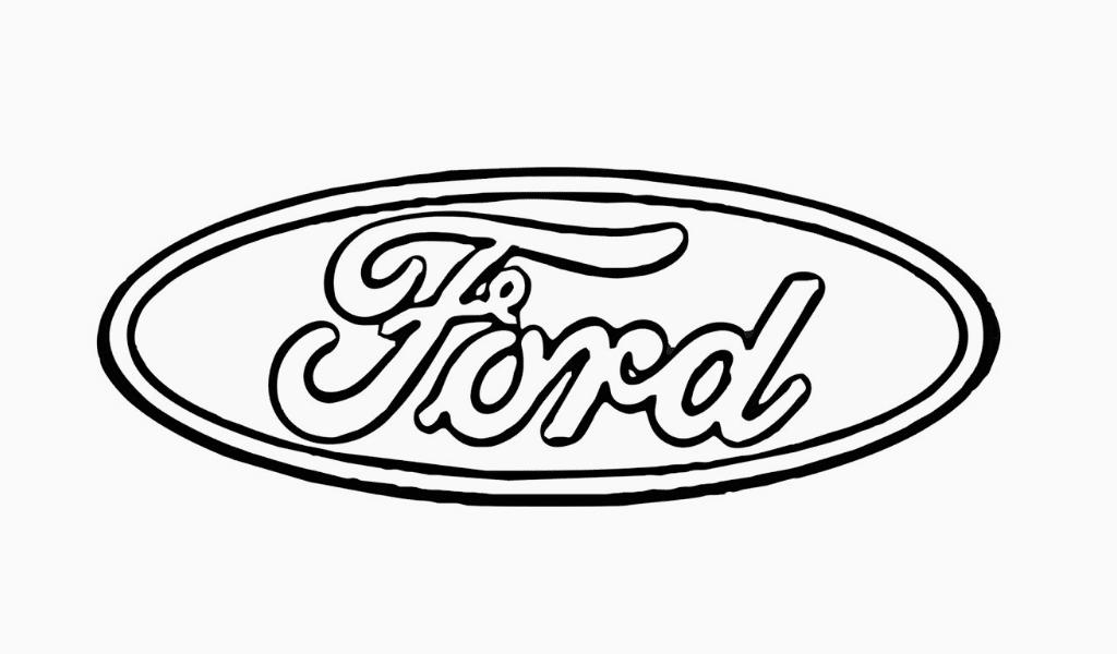 Ford logo draw
