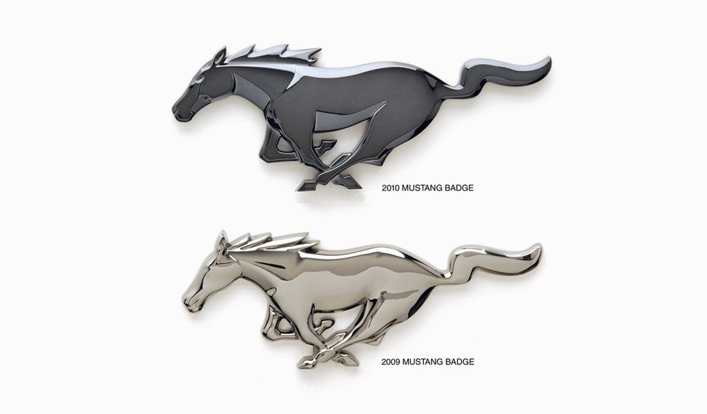Mustang logo history
