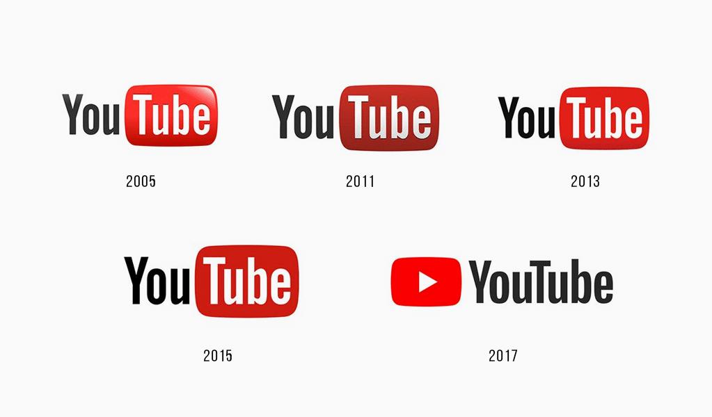 Youtube logo history