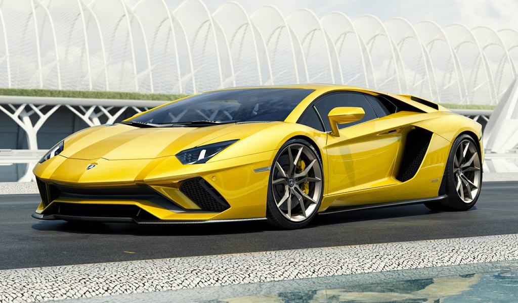Lamborghini car 2019