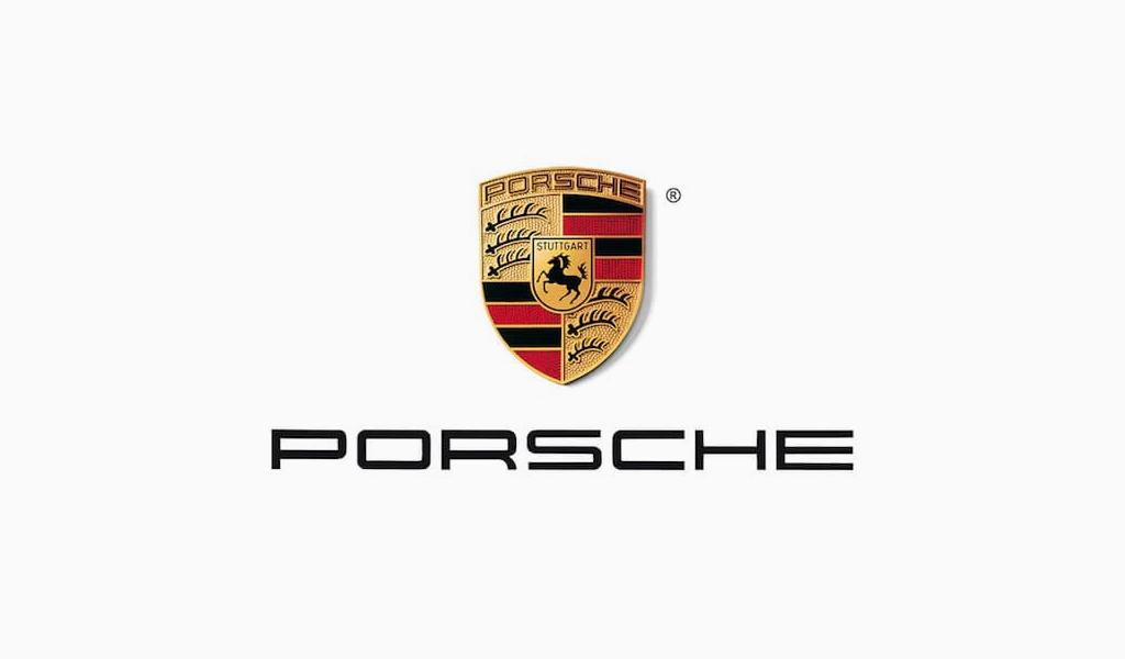 Logotipo atual da Porsche