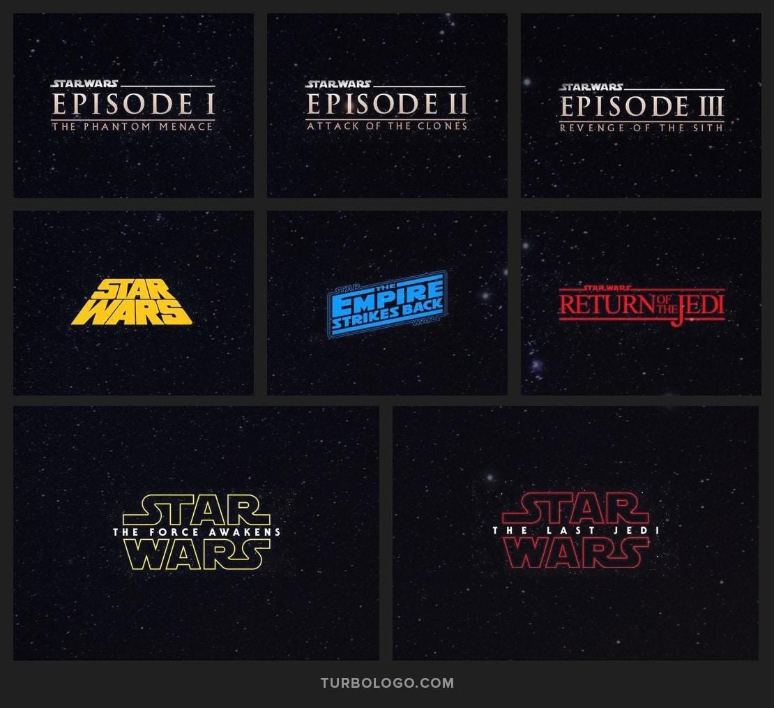 Entwicklung des Star Wars-Logos