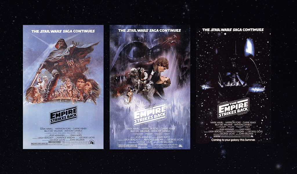 Star Wars logo - the empire strikes back posters