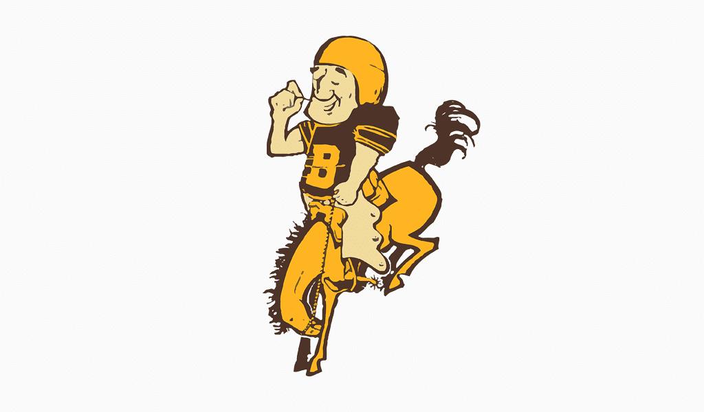 Denver Broncos erstes Logo