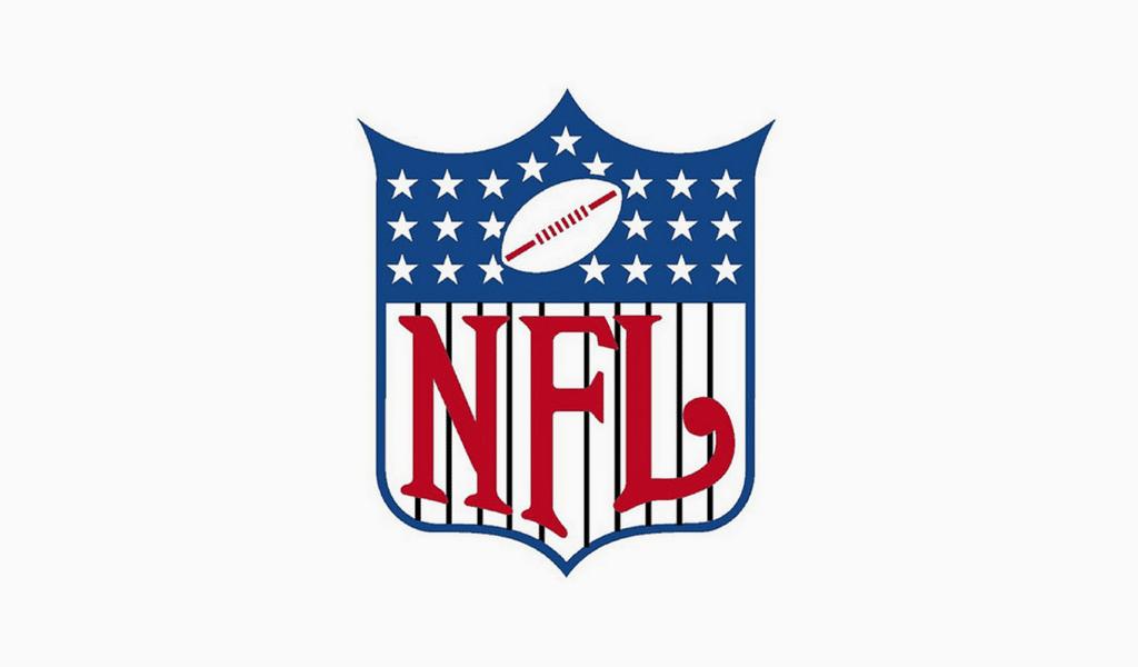 Primer logo de la NFL