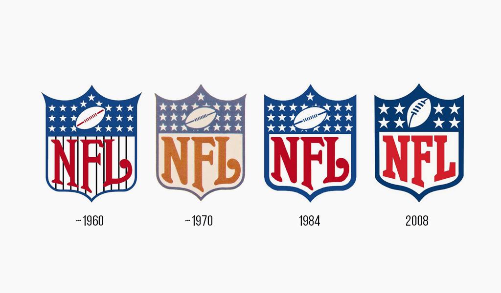 Historia del logo de la NFL