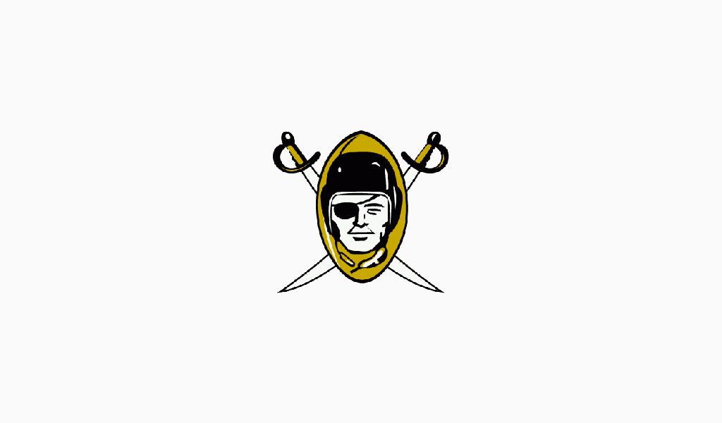 Primer logotipo de los Oakland Raiders