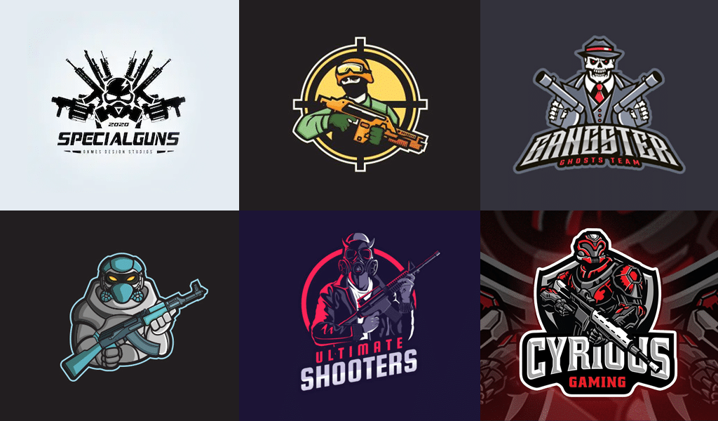 Weapon - logo for gamers