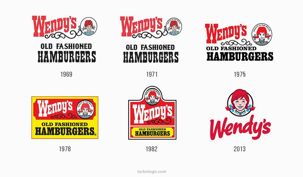 Wendys Logo-Geschichte