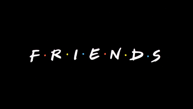 Friends logo cover