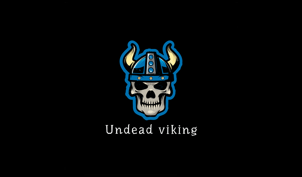 undead viking oyun logosu