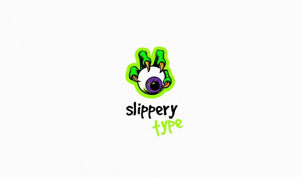 canavar göz oyun logosu