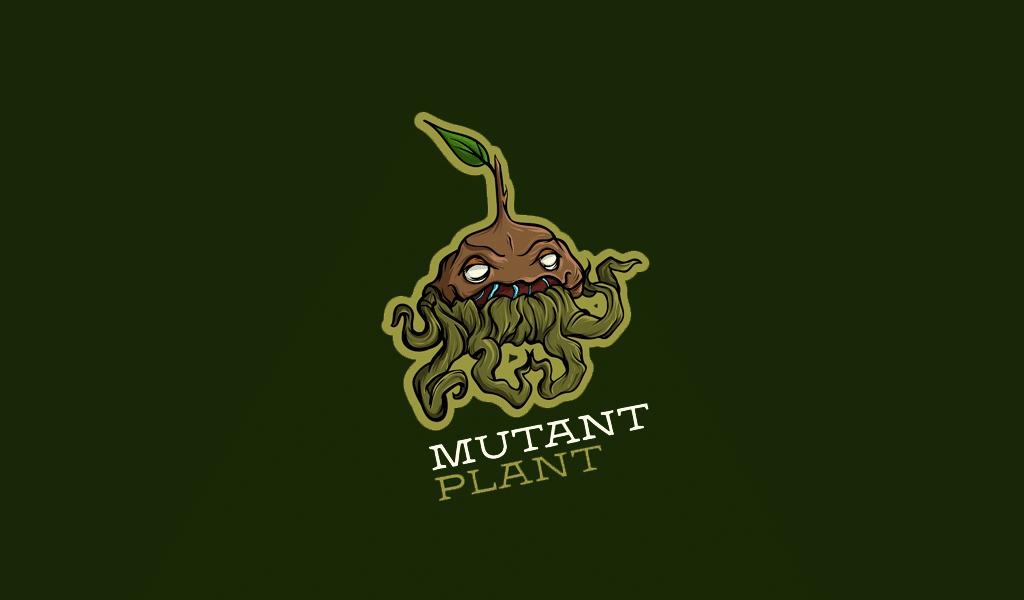 mutant plant oyun logosu