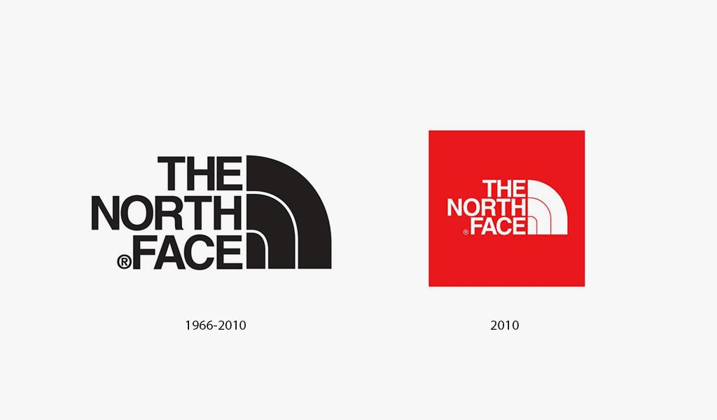 Histoire du logo The North Face