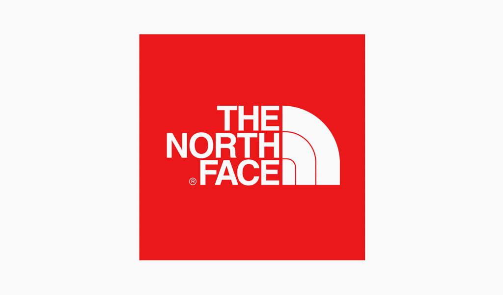 The North Face primary logo