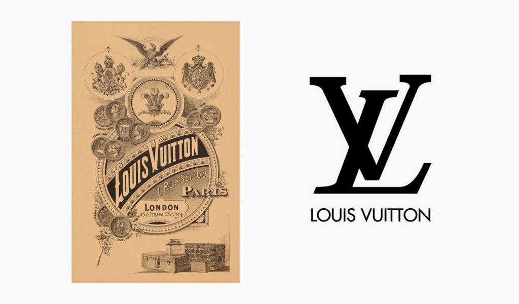 Storia del logo Louis Vuitton