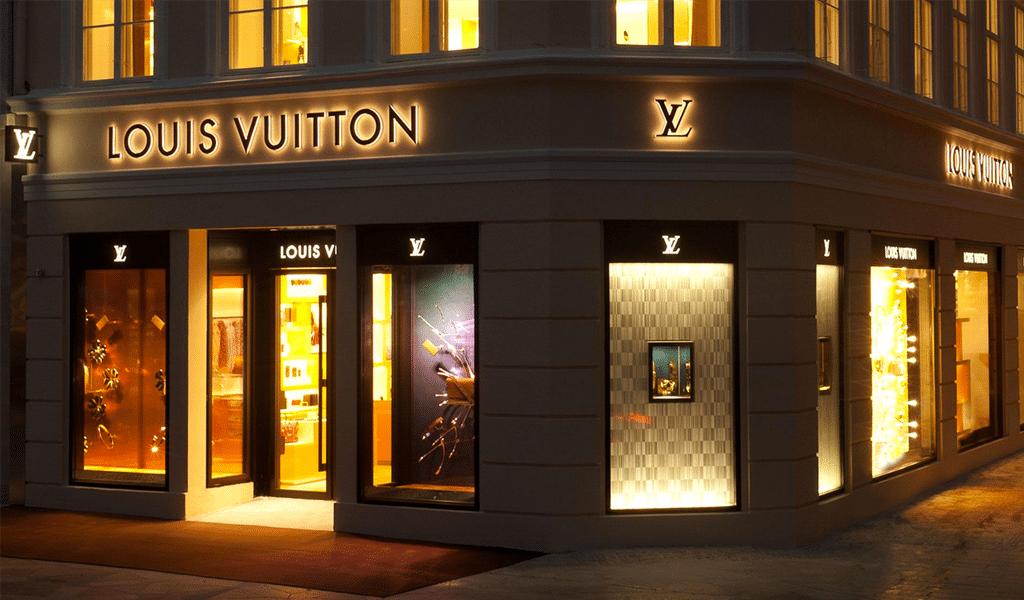 negozio Louis Vuitton